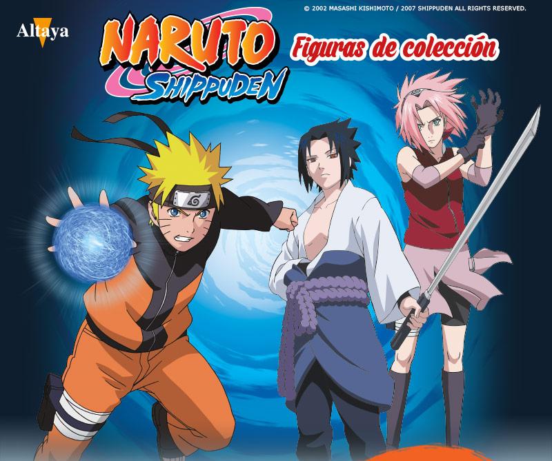 Colecciona las figuras de Naruto
